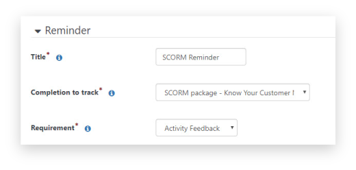 Feedback Reminders Feature: Improve the online experience for future learners with the power of feedback!