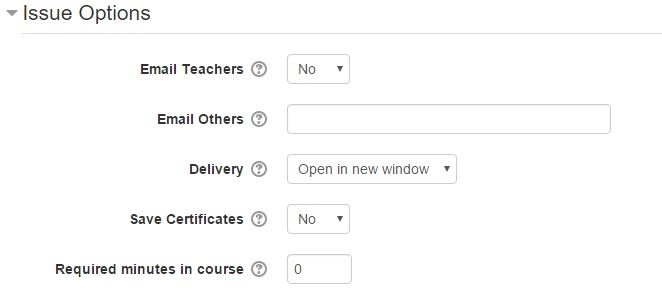 Moodle Plugin Certificate Module Issue Options-1