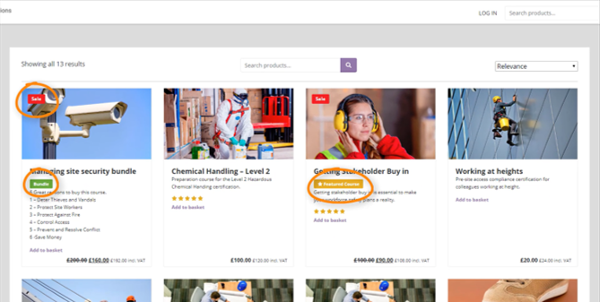 PayForCourses - Search Tags