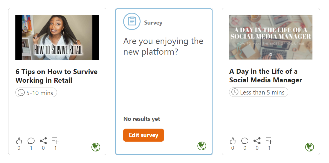 User-generated content examples