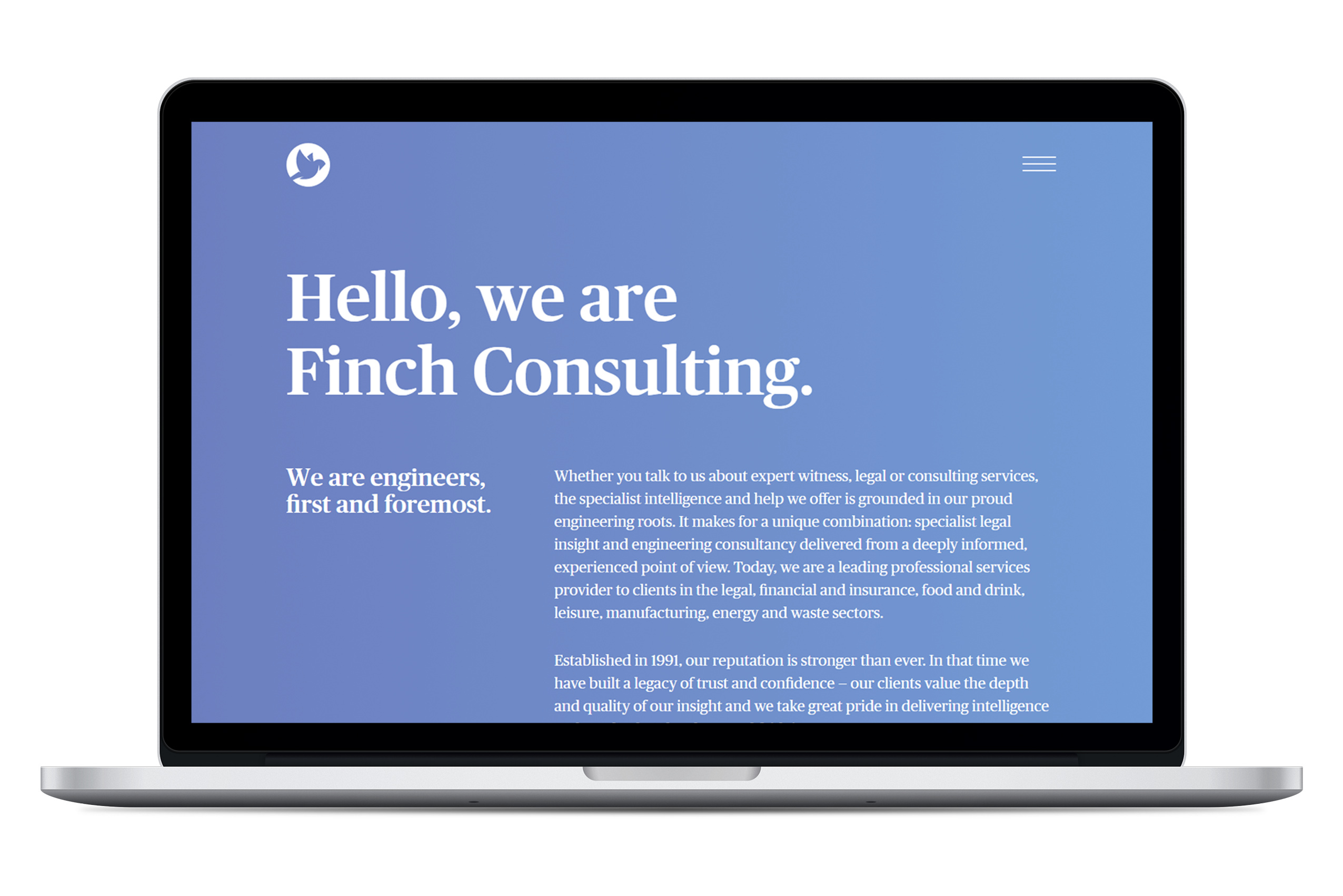 Finch Consulting - Website - LMS Case Study