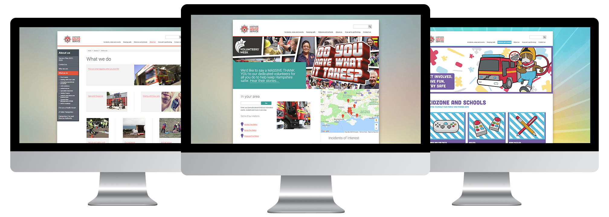 Hampshire Fire and Rescue Service - Moodle Site - LMS Case Study