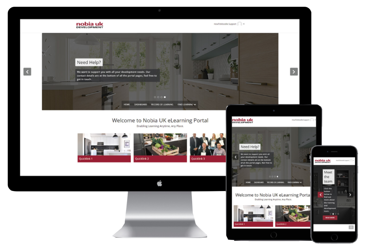 Nobia UK - Totara Learn Site - LMS Case Study