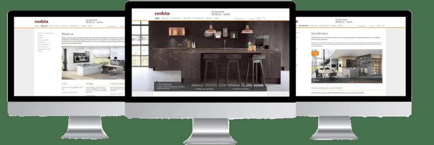 Nobia UK Website