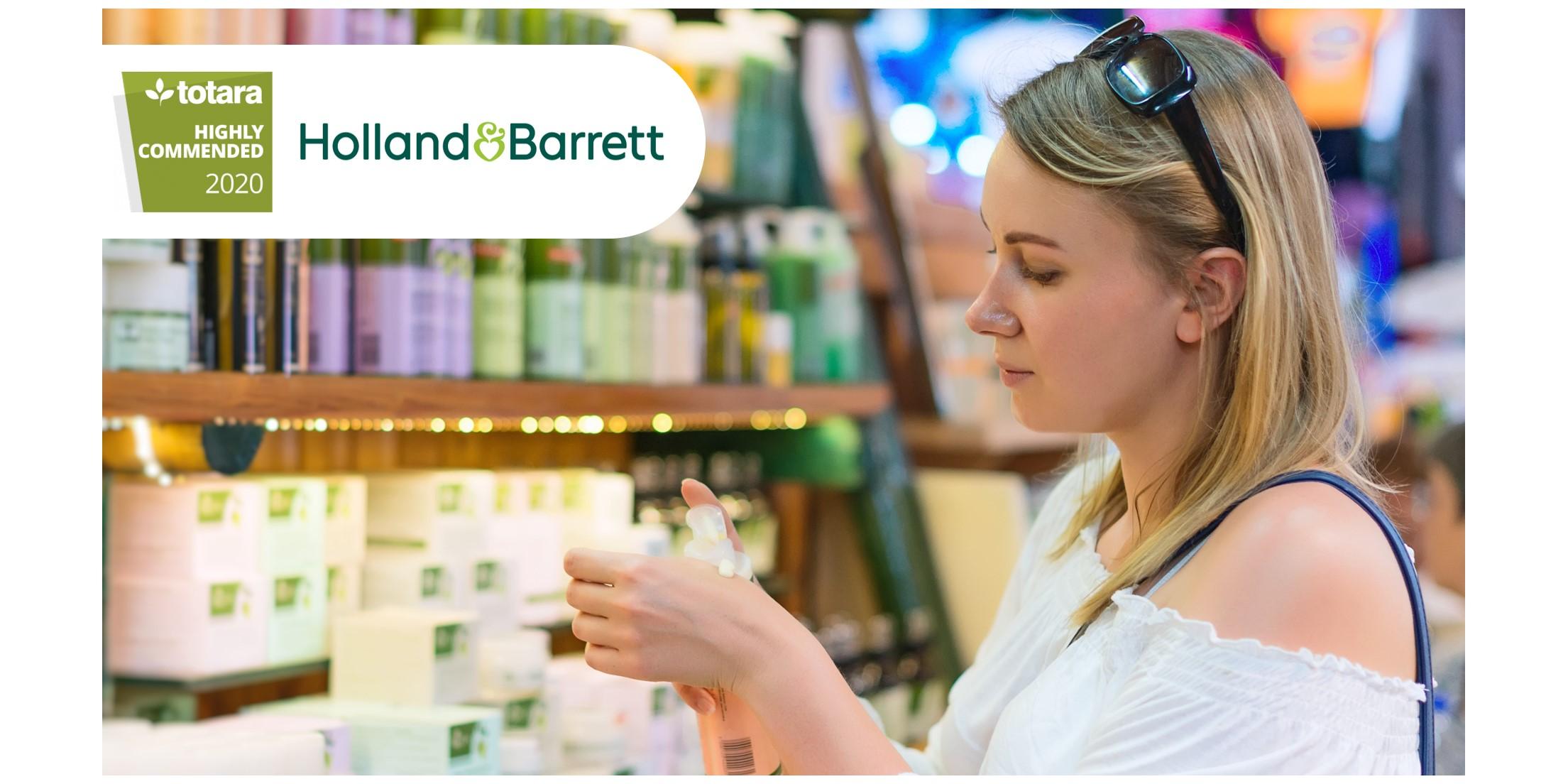 Our latest Totara success story: Holland & Barrett