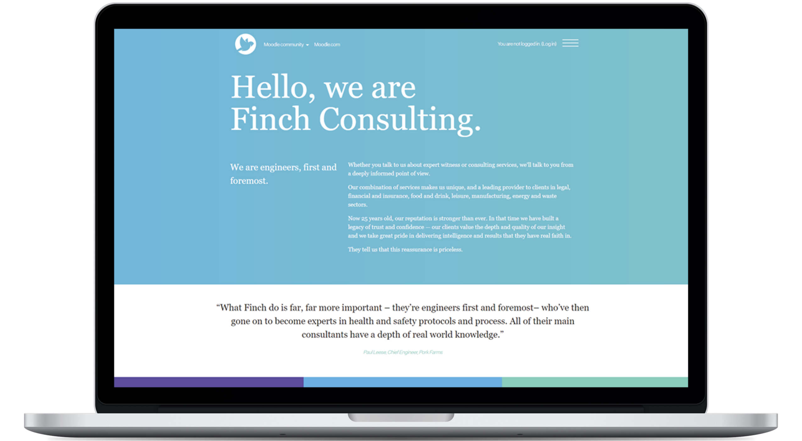 Finch Consulting LMS Branding