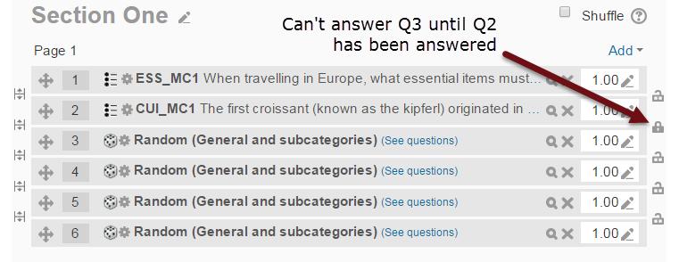 Moodle 2.9 Quiz activity