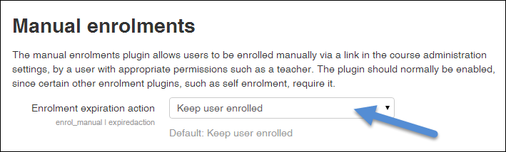 Suspend students from a Moodle course