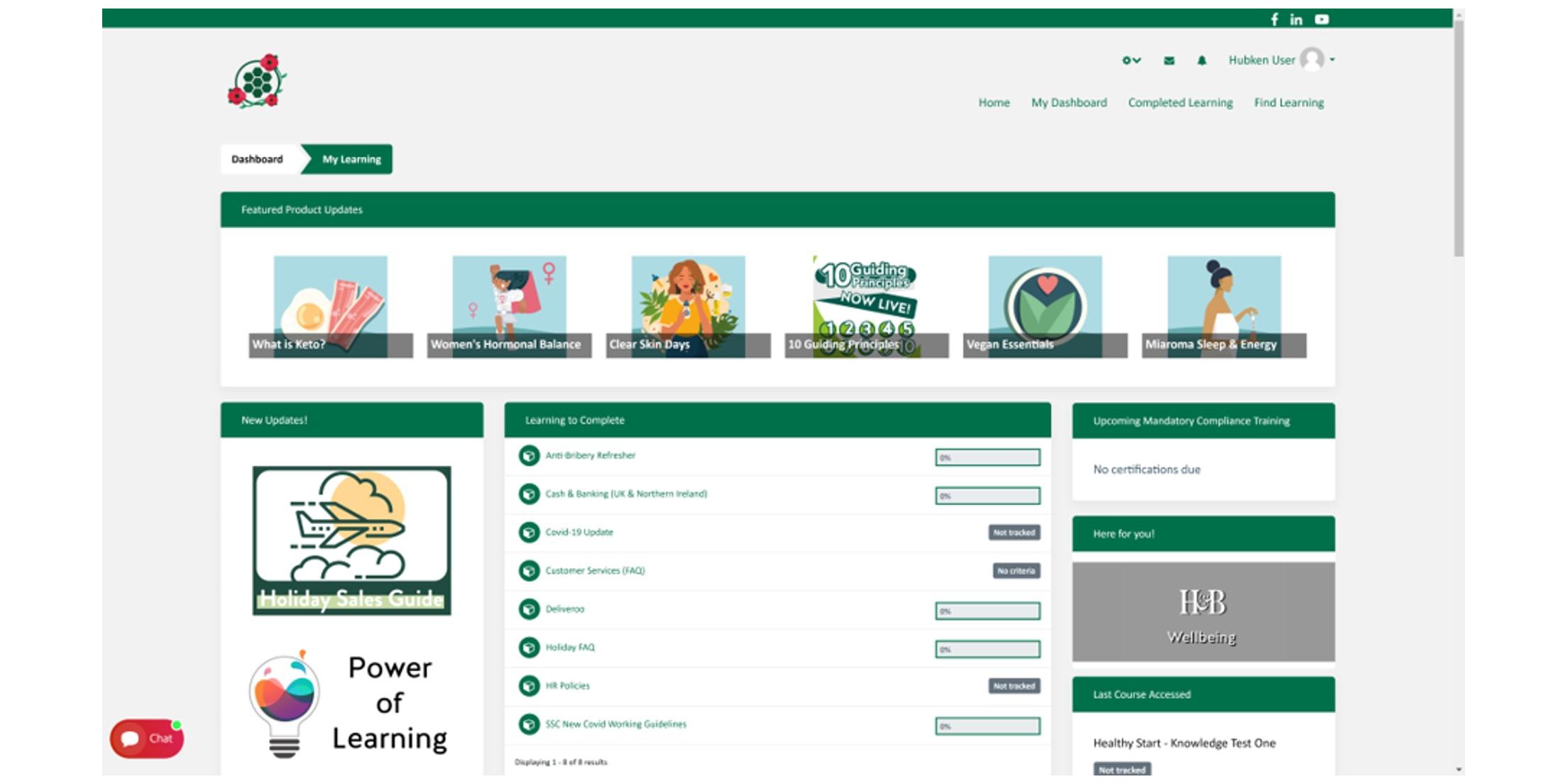 e-Learning for Retail - Holland & Barrett Screenshot